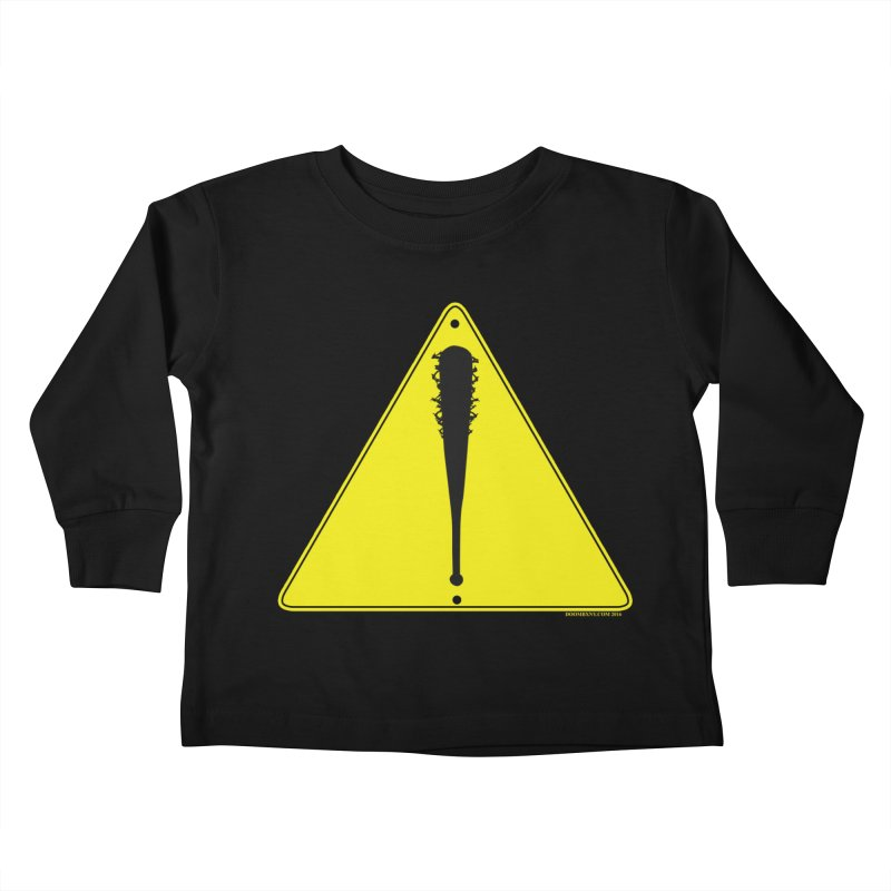 Caution Ahead Kids Toddler Longsleeve T-Shirt by doombxny's Artist Shop