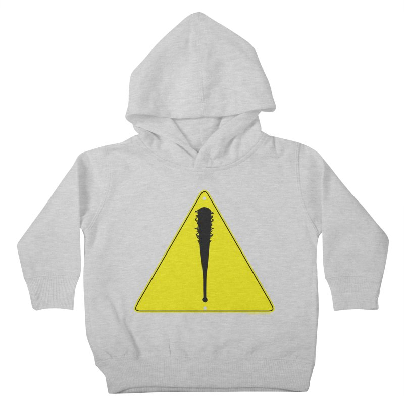 Caution Ahead Kids Toddler Pullover Hoody by doombxny's Artist Shop