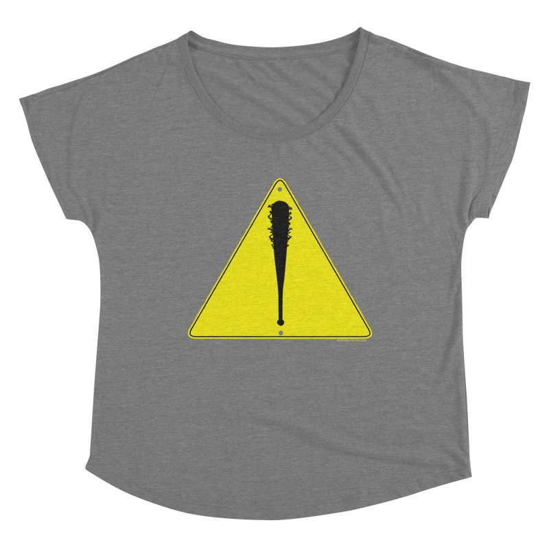 Caution Ahead Women's Scoop Neck by doombxny's Artist Shop