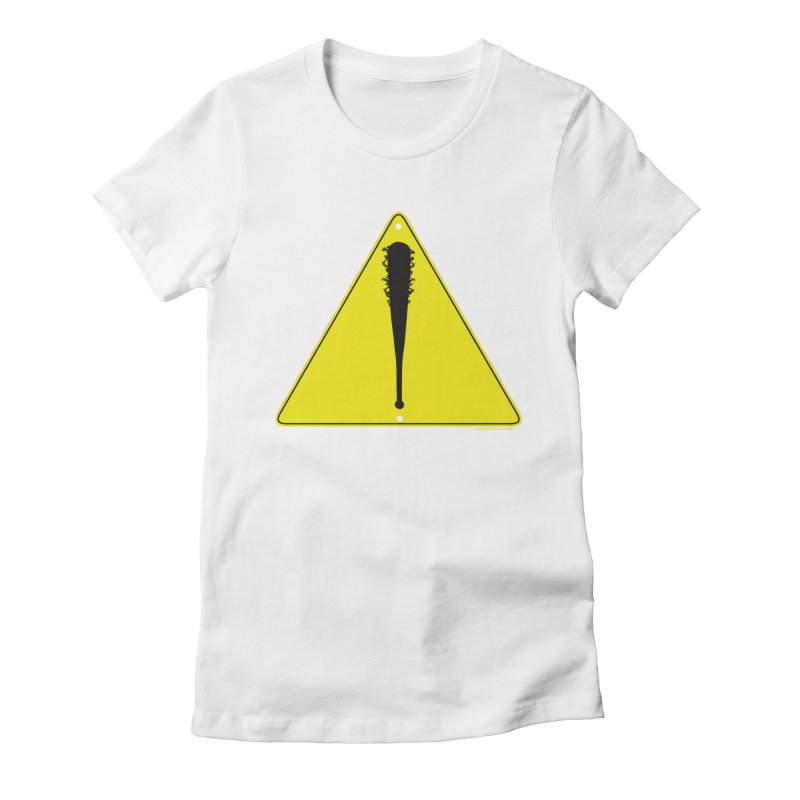 Caution Ahead Women's T-Shirt by doombxny's Artist Shop
