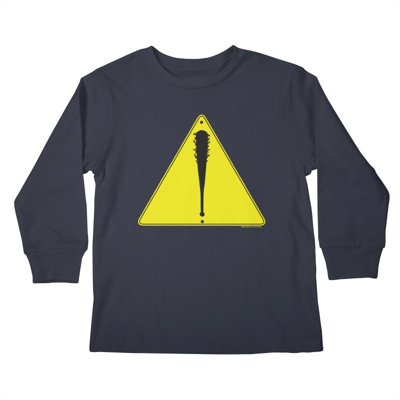 Caution Ahead Kids Longsleeve T-Shirt by doombxny's Artist Shop