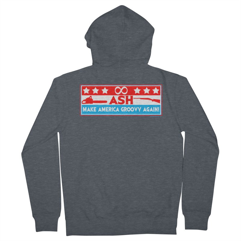 Make America Groovy Again Men's Zip-Up Hoody by doombxny's Artist Shop