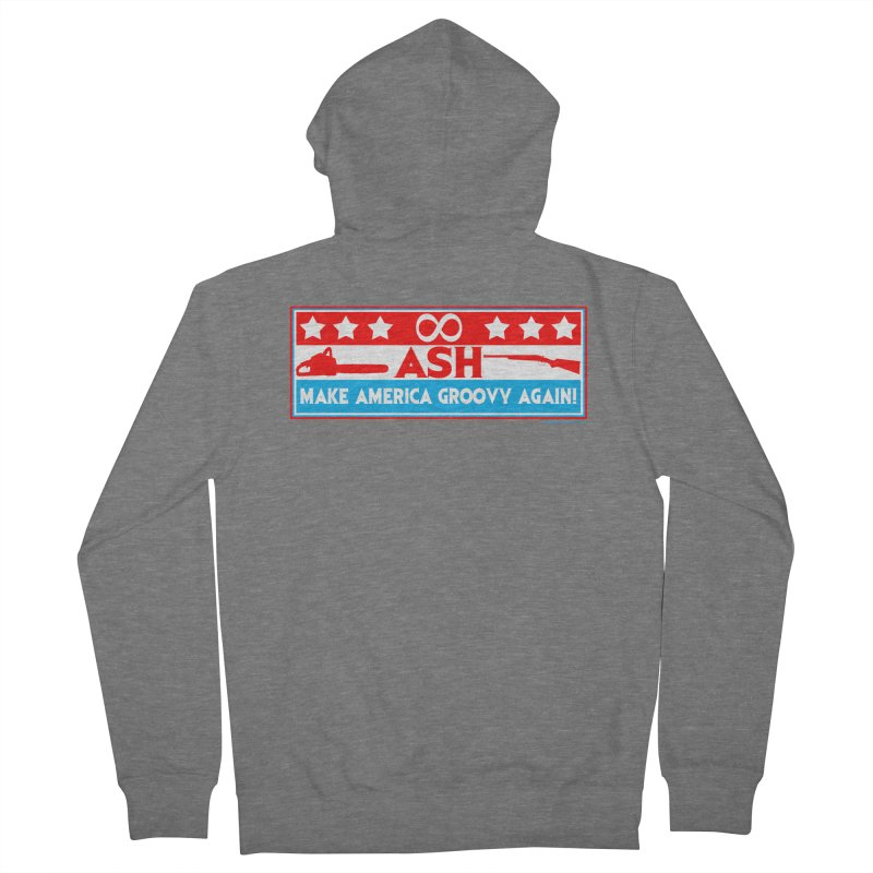 Make America Groovy Again Men's Zip-Up Hoody by doombxny's Artist Shop