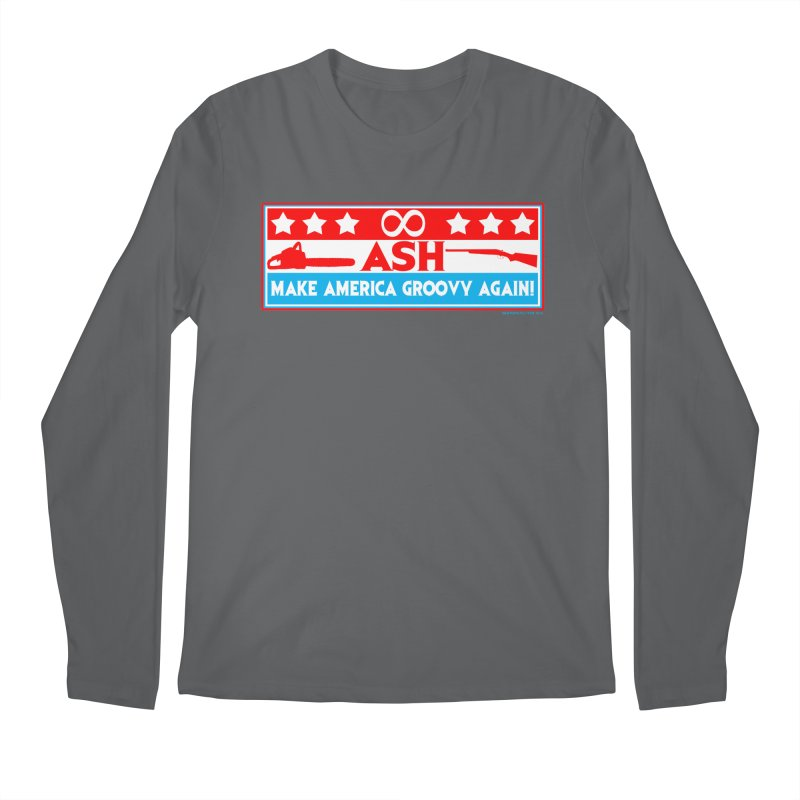 Make America Groovy Again Men's Longsleeve T-Shirt by doombxny's Artist Shop