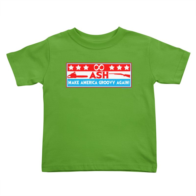 Make America Groovy Again Kids Toddler T-Shirt by doombxny's Artist Shop