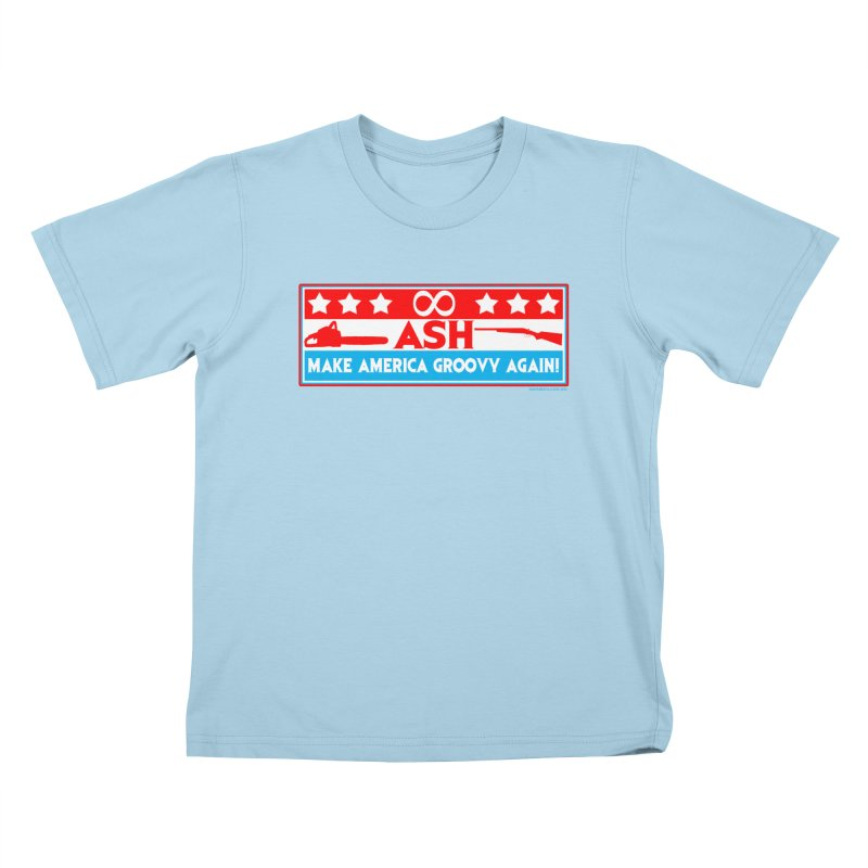 Make America Groovy Again Kids T-Shirt by doombxny's Artist Shop