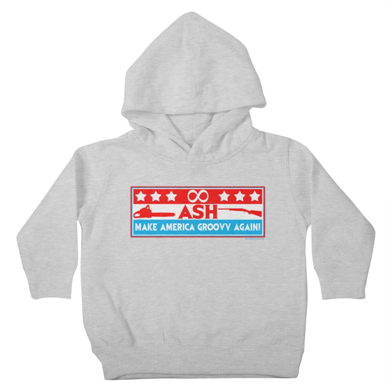 Make America Groovy Again Kids Toddler Pullover Hoody by doombxny's Artist Shop