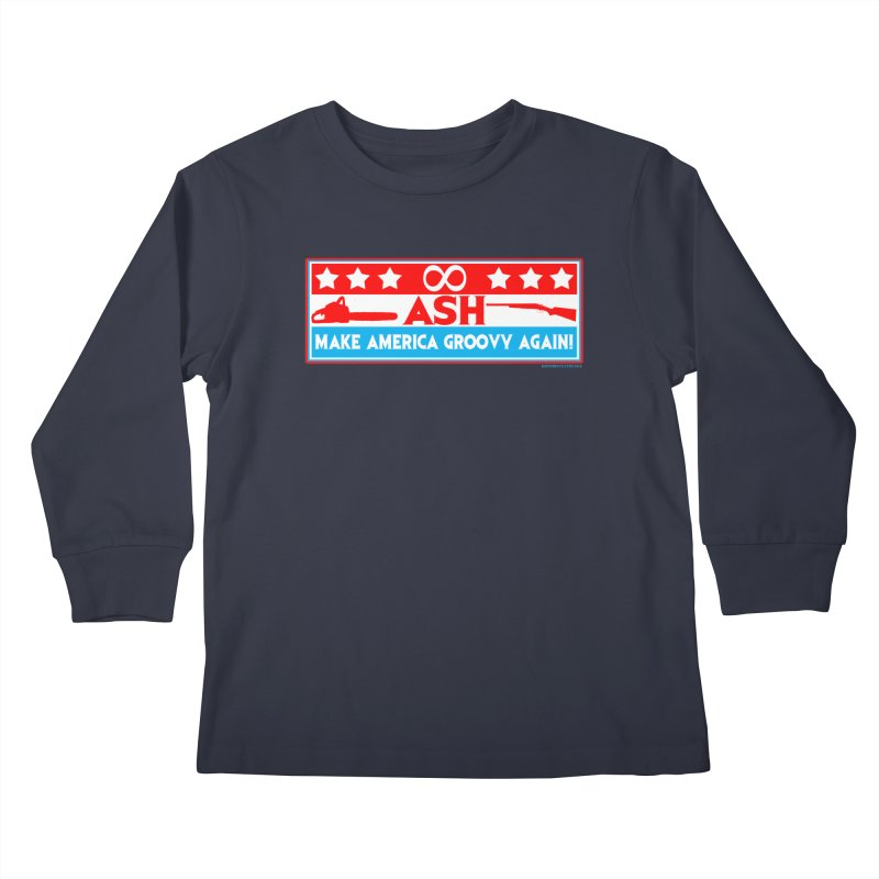 Make America Groovy Again Kids Longsleeve T-Shirt by doombxny's Artist Shop