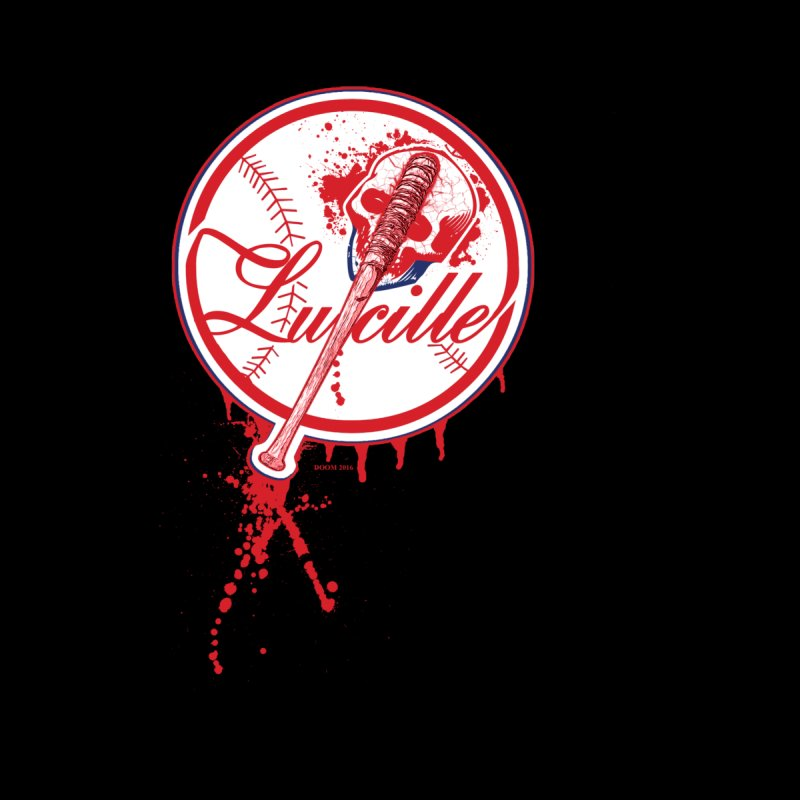 Lucille Baseball Logo Kids T-shirt by doombxny's Artist Shop