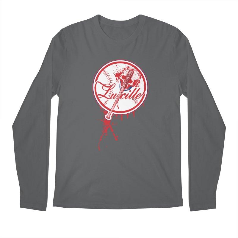 Lucille Baseball Logo Men's Longsleeve T-Shirt by doombxny's Artist Shop