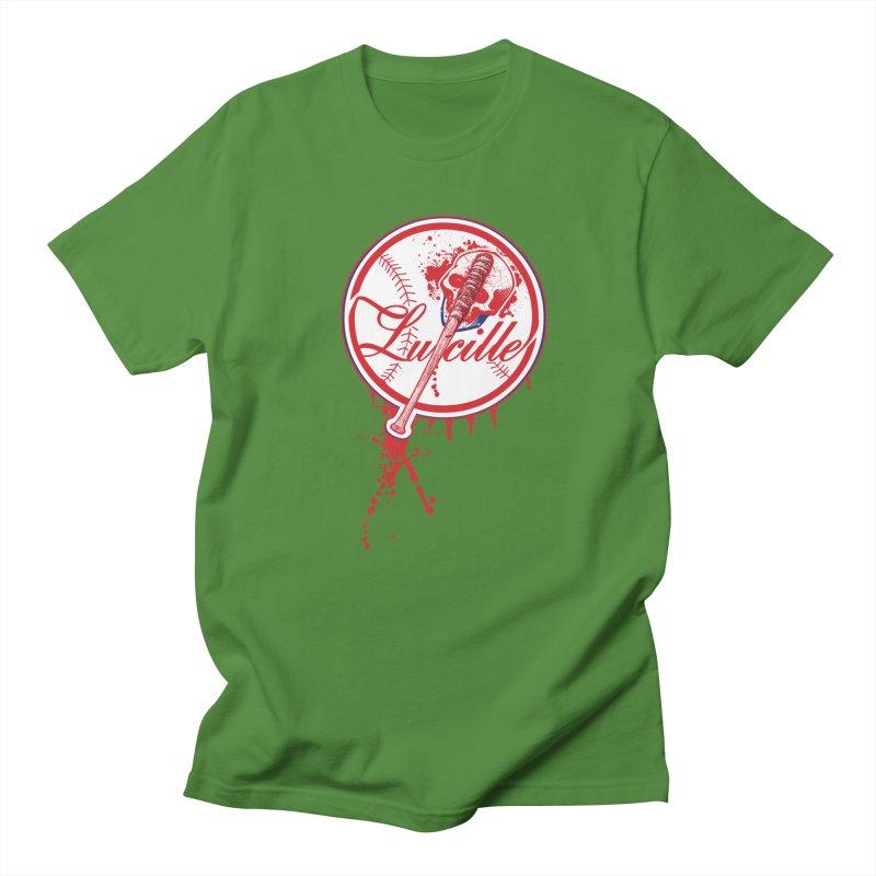 Lucille Baseball Logo Men's T-Shirt by doombxny's Artist Shop