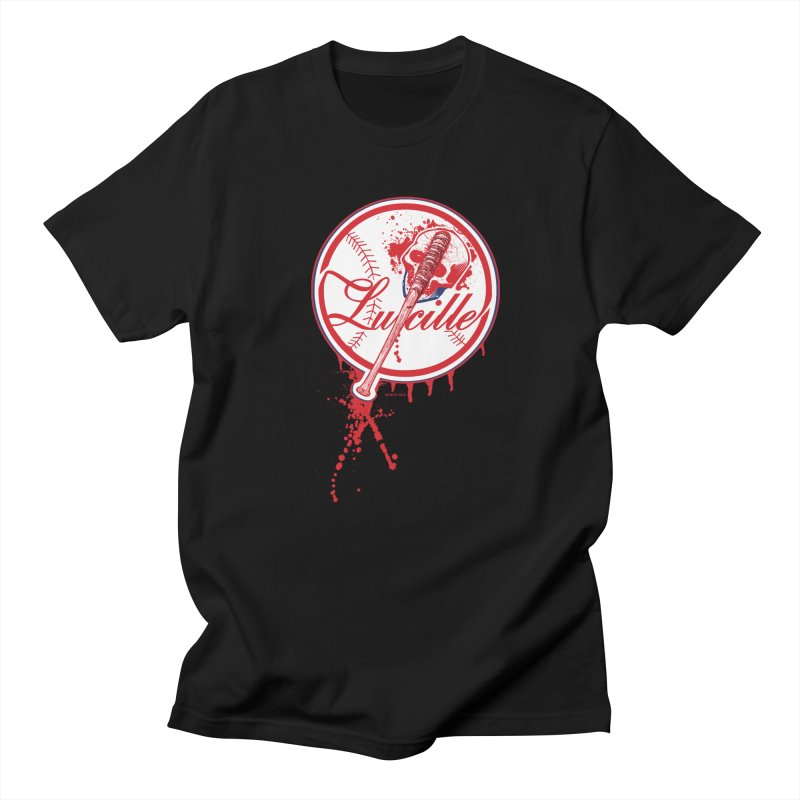 Lucille Baseball Logo Men's T-Shirt by doombxny's Artist Shop