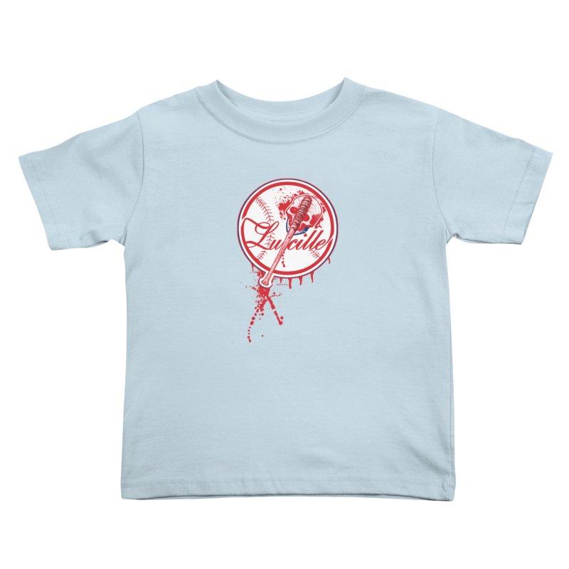 Lucille Baseball Logo Kids Toddler T-Shirt by doombxny's Artist Shop