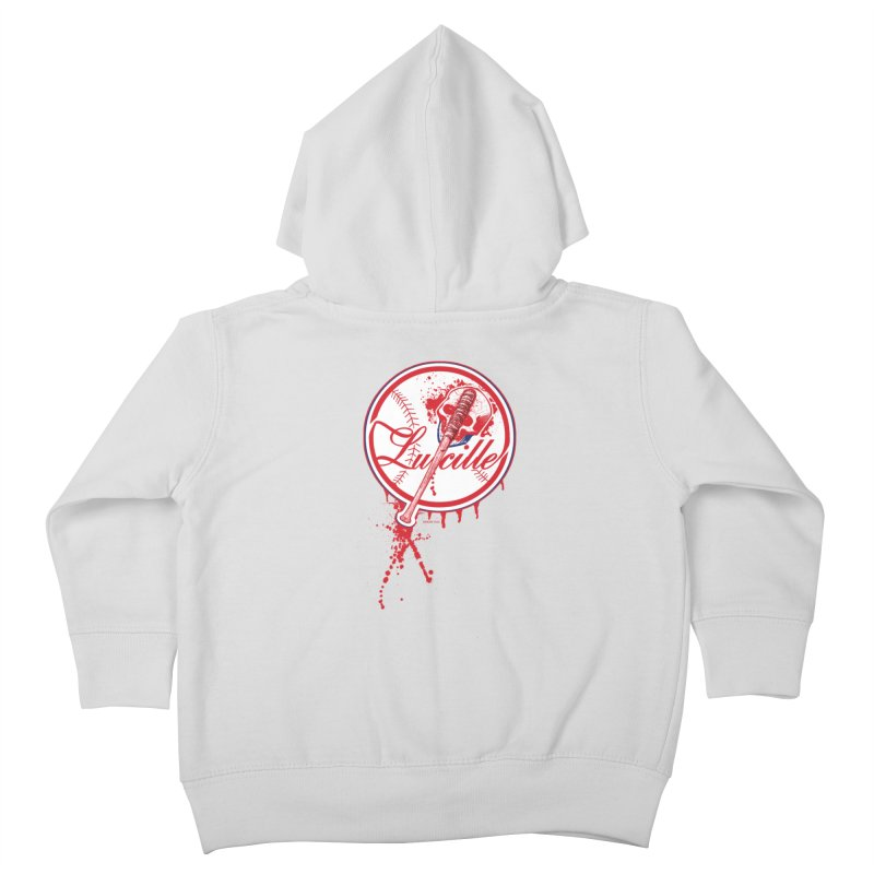 Lucille Baseball Logo Kids Toddler Zip-Up Hoody by doombxny's Artist Shop
