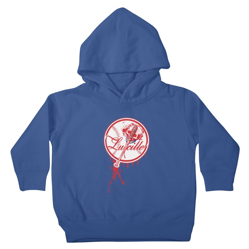 Lucille Baseball Logo Kids Toddler Pullover Hoody by doombxny's Artist Shop
