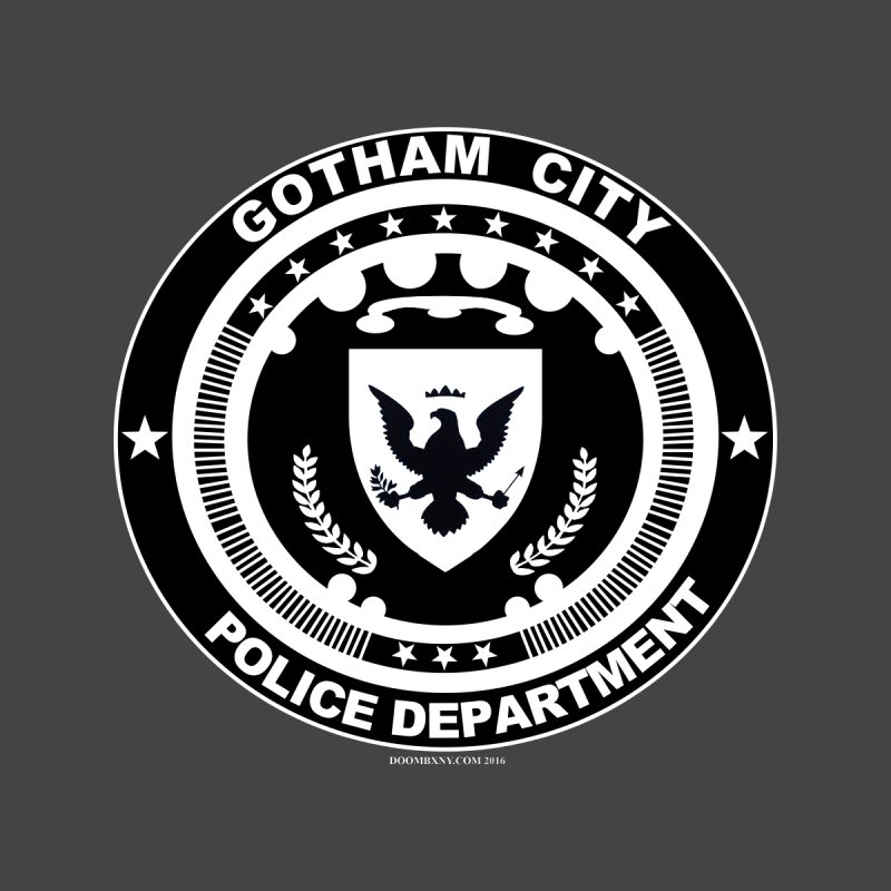 Gotham PD Kids T-Shirt by doombxny's Artist Shop