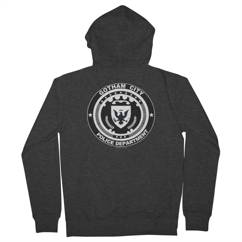 Gotham PD Men's Zip-Up Hoody by doombxny's Artist Shop
