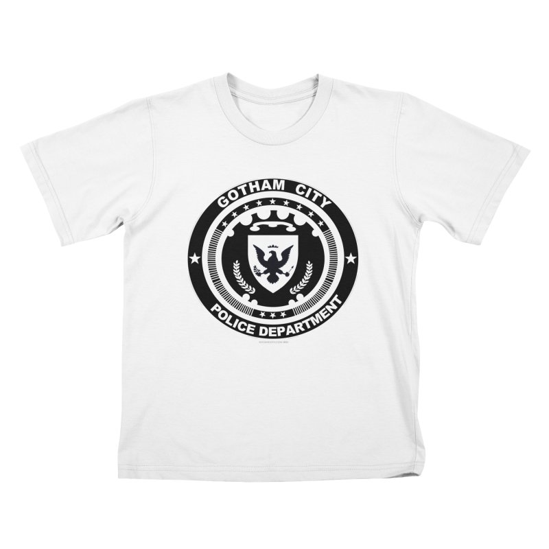 Gotham PD Kids T-Shirt by doombxny's Artist Shop