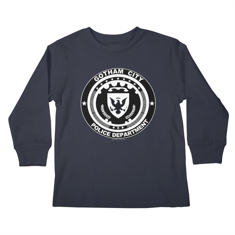 Gotham PD Kids Longsleeve T-Shirt by doombxny's Artist Shop