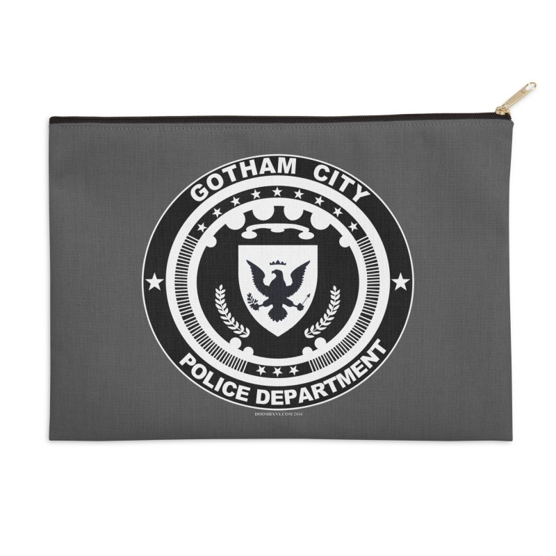 Gotham PD Accessories Zip Pouch by doombxny's Artist Shop