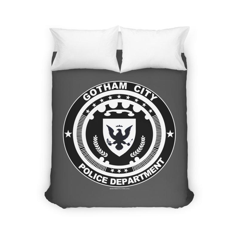Gotham PD Home Duvet by doombxny's Artist Shop