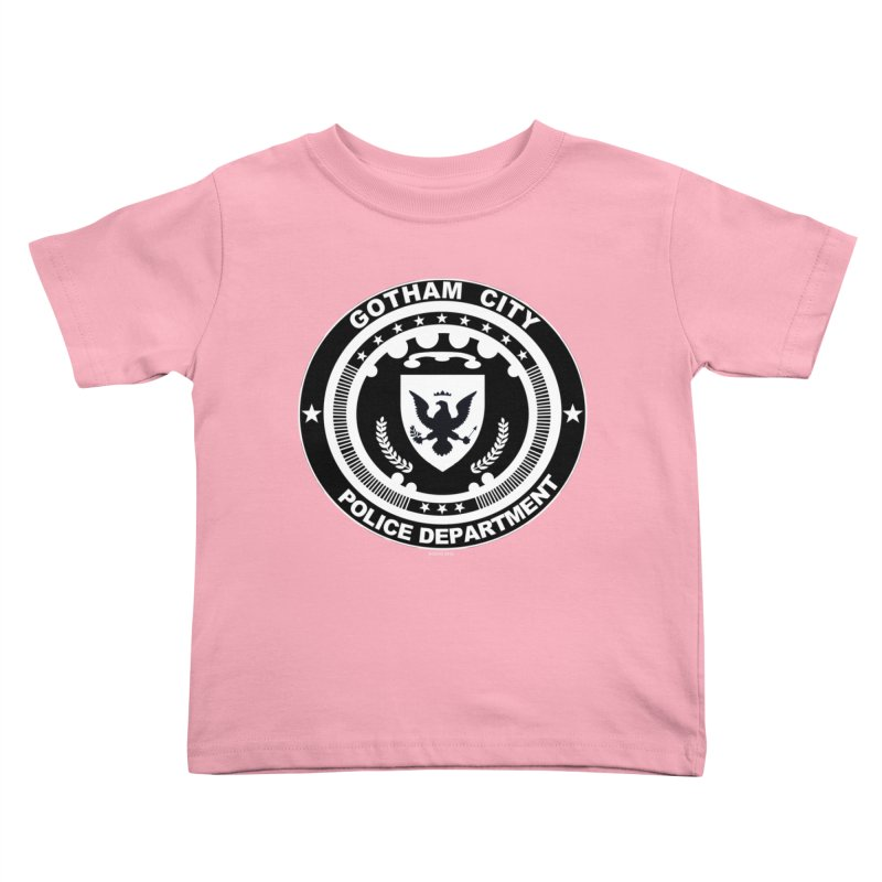 Gotham PD Kids Toddler T-Shirt by doombxny's Artist Shop