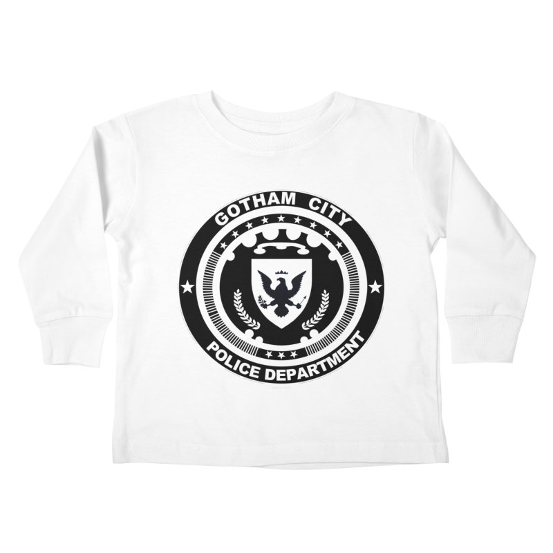 Gotham PD Kids Toddler Longsleeve T-Shirt by doombxny's Artist Shop