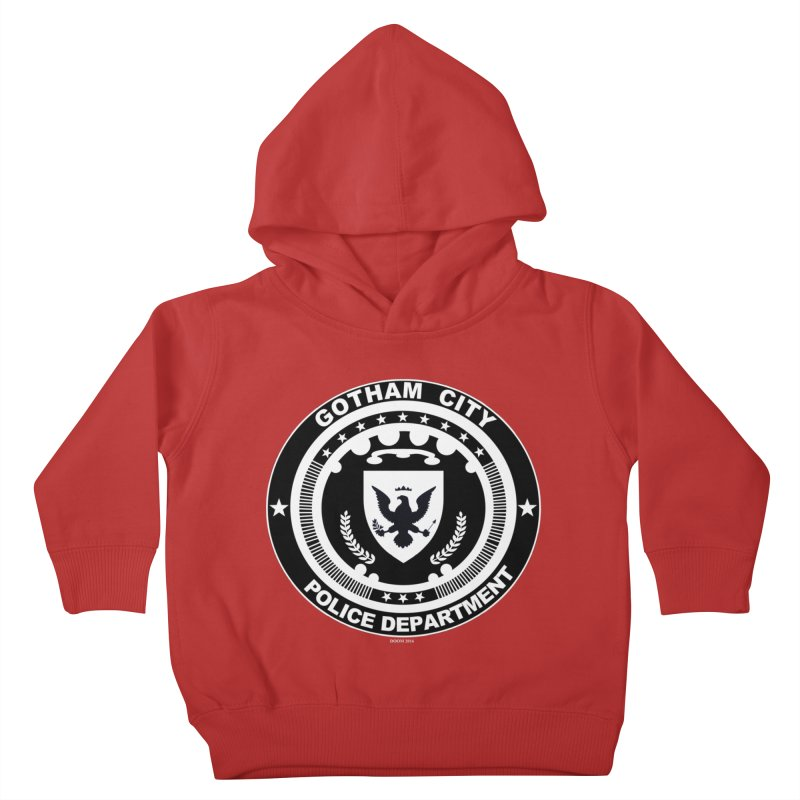 Gotham PD Kids Toddler Pullover Hoody by doombxny's Artist Shop