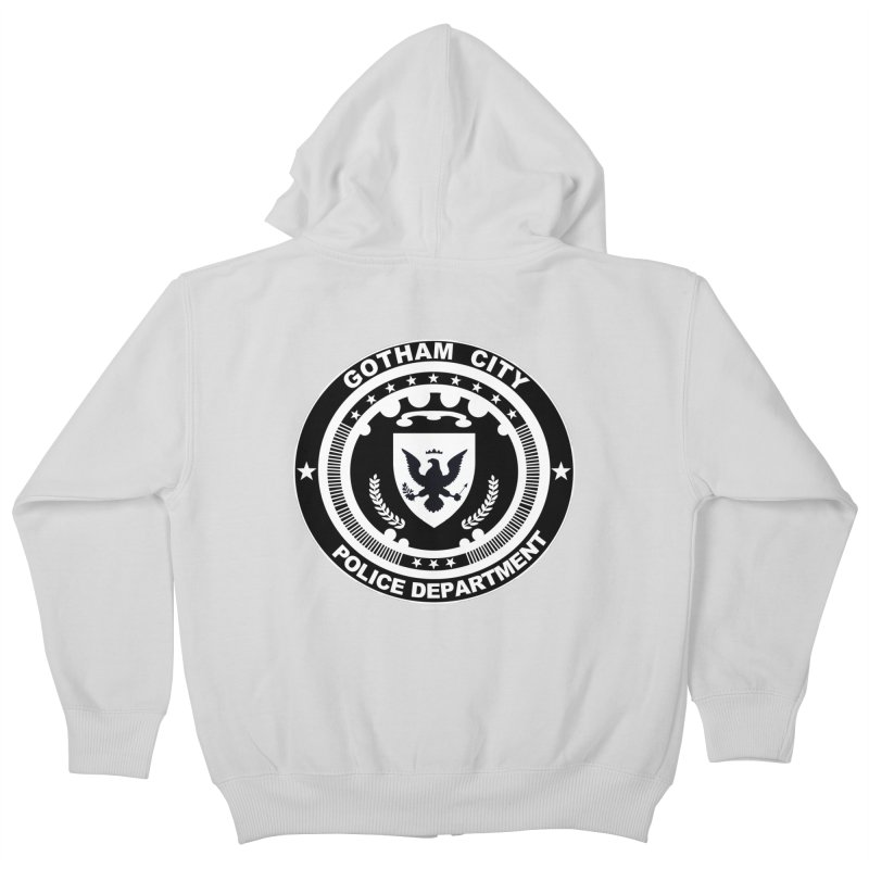Gotham PD Kids Zip-Up Hoody by doombxny's Artist Shop