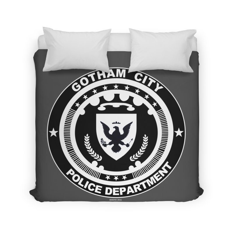 Gotham PD Home Duvet by doombxny's Artist Shop