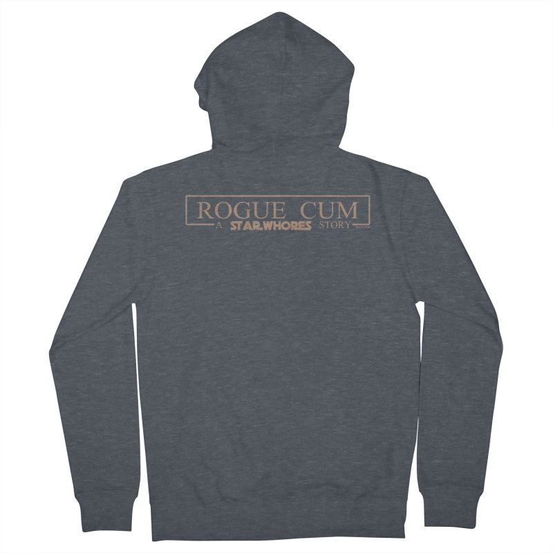Rogue Cum Women's Zip-Up Hoody by doombxny's Artist Shop