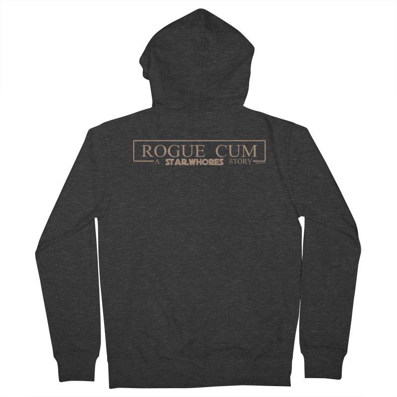 Rogue Cum Men's Zip-Up Hoody by doombxny's Artist Shop