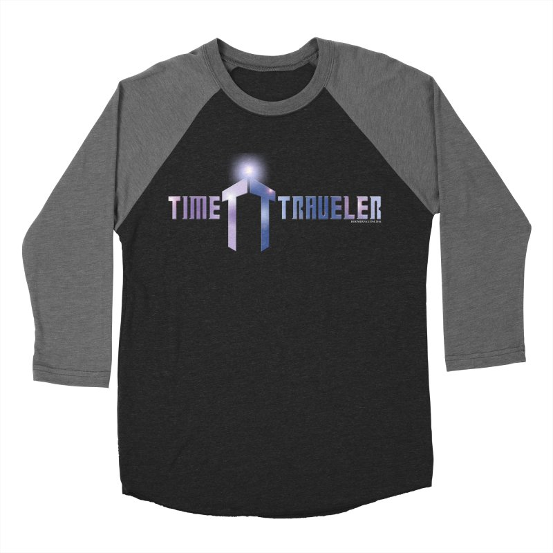 Time Traveler Men's Baseball Triblend T-Shirt by doombxny's Artist Shop