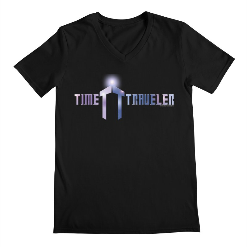 Time Traveler Men's V-Neck by doombxny's Artist Shop