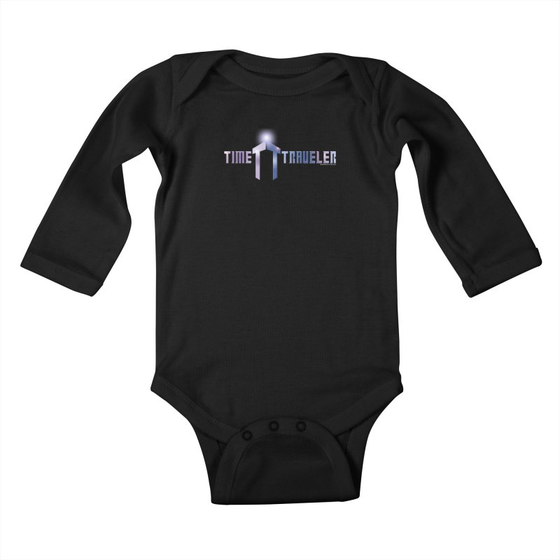 Time Traveler Kids Baby Longsleeve Bodysuit by doombxny's Artist Shop