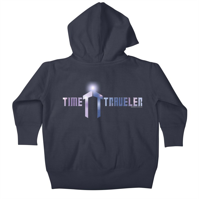 Time Traveler Kids Baby Zip-Up Hoody by doombxny's Artist Shop