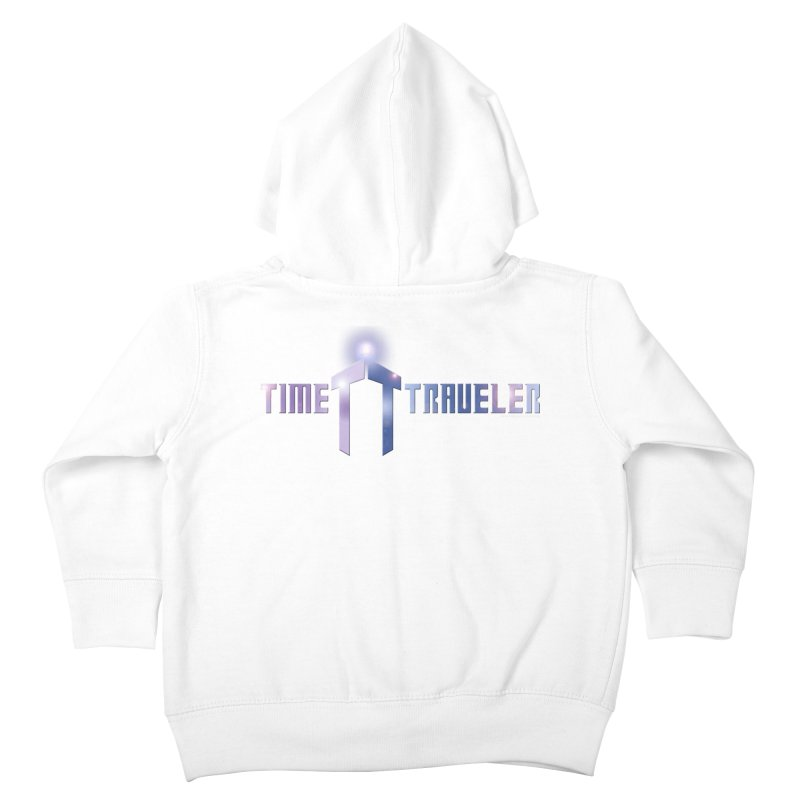 Time Traveler Kids Toddler Zip-Up Hoody by doombxny's Artist Shop