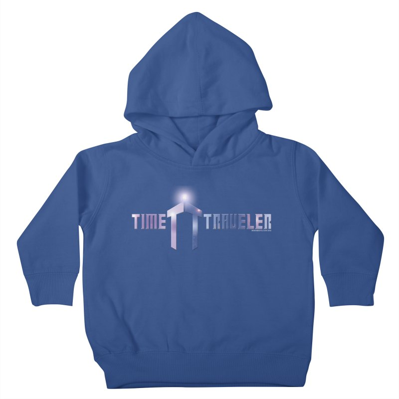 Time Traveler Kids Toddler Pullover Hoody by doombxny's Artist Shop