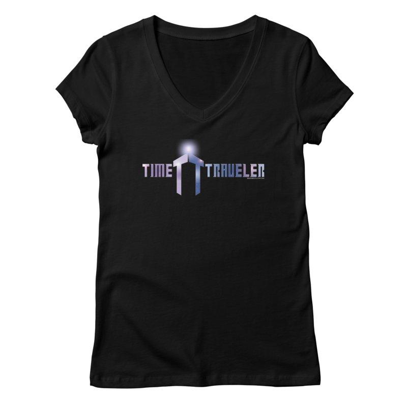 Time Traveler Women's V-Neck by doombxny's Artist Shop