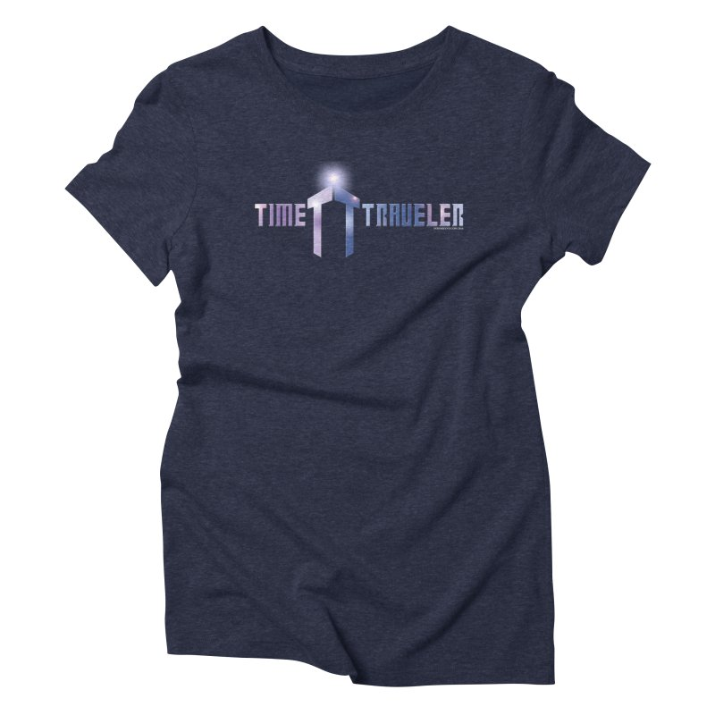 Time Traveler Women's Triblend T-shirt by doombxny's Artist Shop