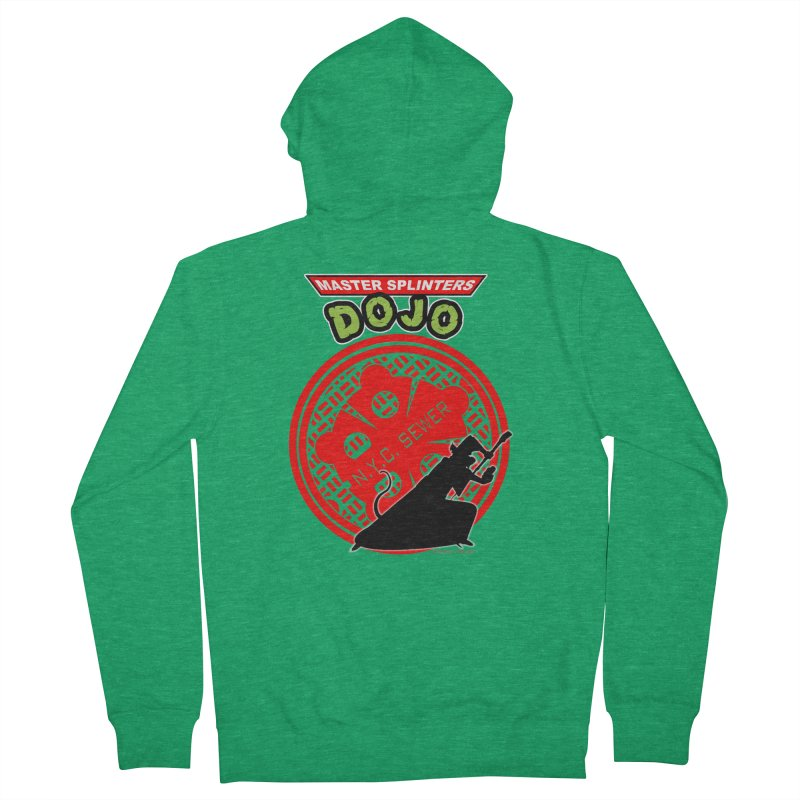 Master Splinters Dojo Men's Zip-Up Hoody by doombxny's Artist Shop