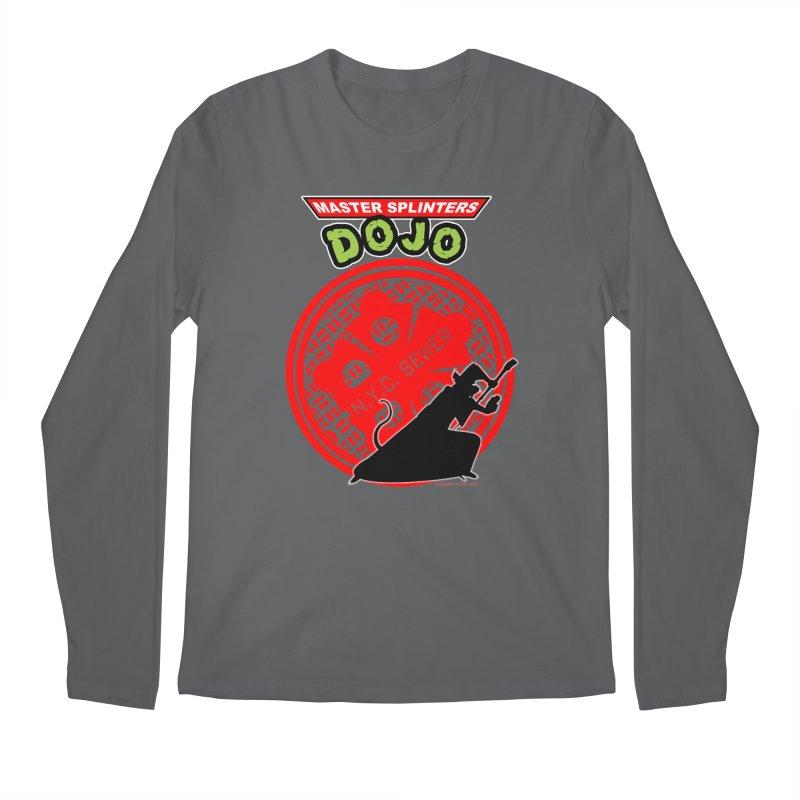 Master Splinters Dojo Men's Longsleeve T-Shirt by doombxny's Artist Shop