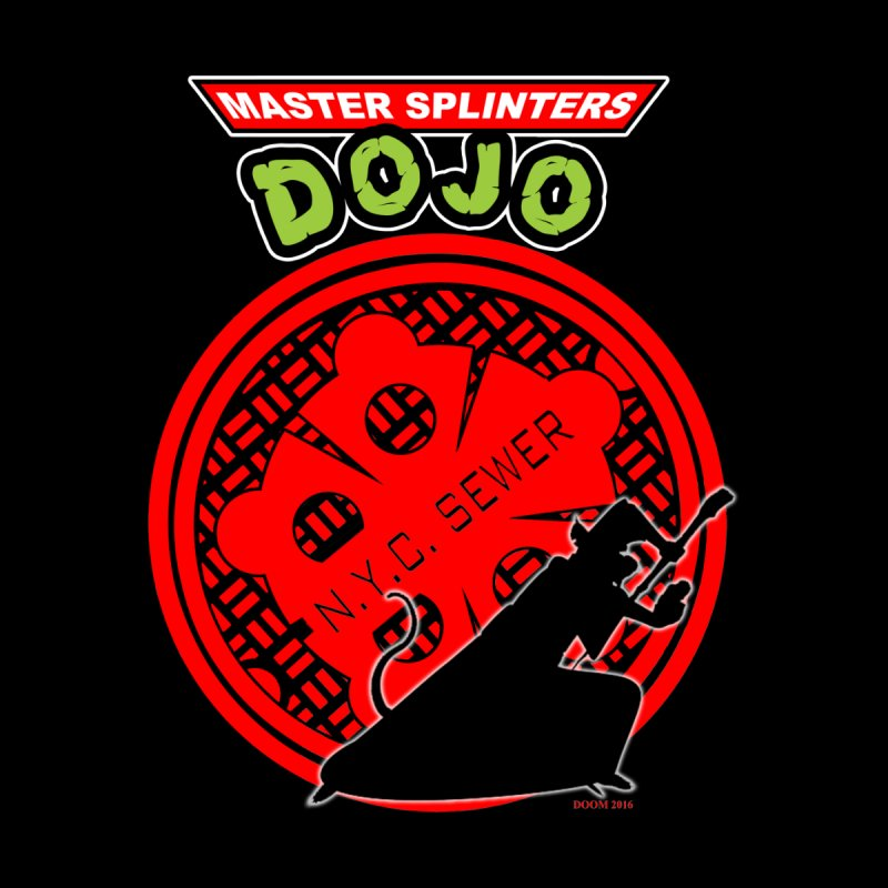 Master Splinters Dojo Men's Baseball Triblend T-Shirt by doombxny's Artist Shop