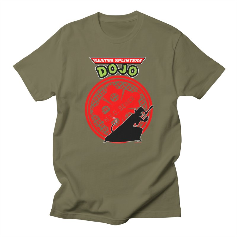 Master Splinters Dojo Men's T-Shirt by doombxny's Artist Shop