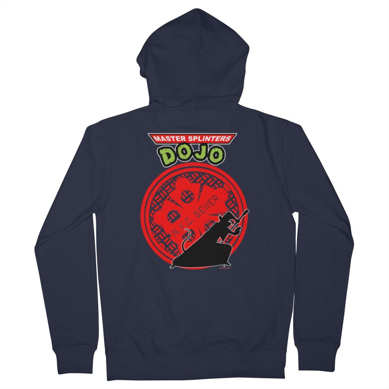 Master Splinters Dojo Women's Zip-Up Hoody by doombxny's Artist Shop