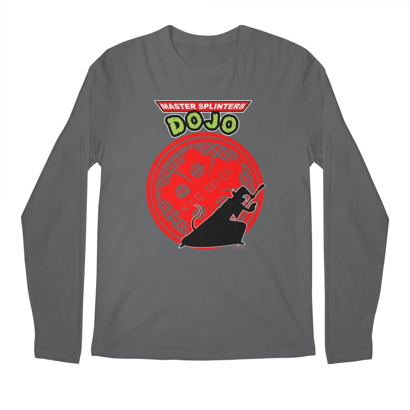 Master Splinters Dojo Men's Longsleeve T-Shirt by doombxny's Artist Shop