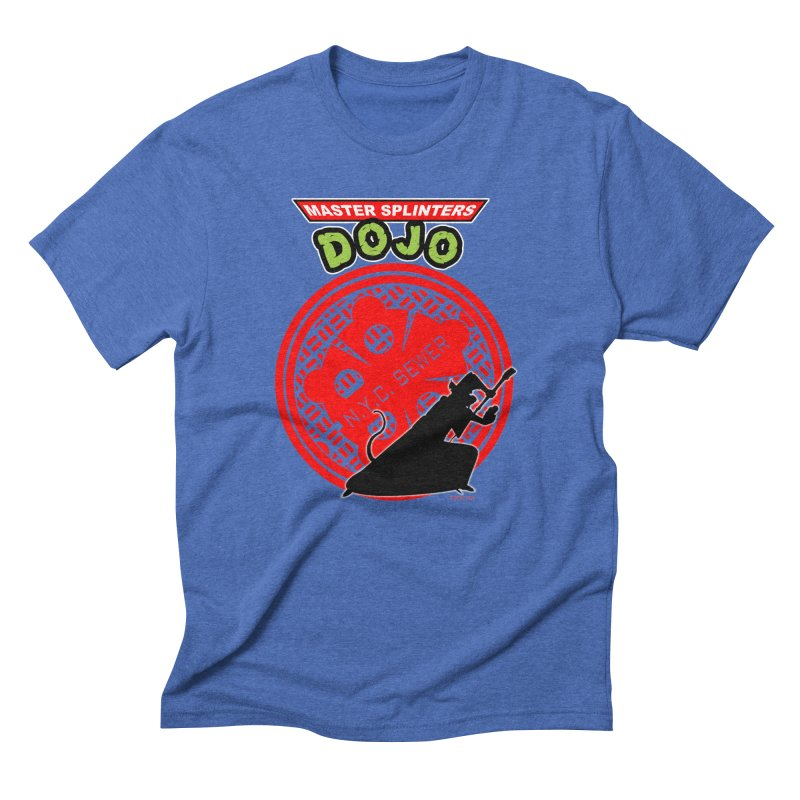 Master Splinters Dojo Men's Triblend T-shirt by doombxny's Artist Shop