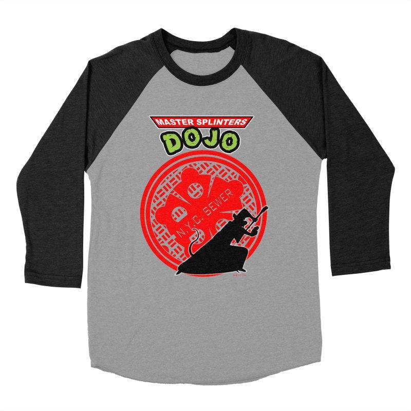 Master Splinters Dojo Men's Baseball Triblend T-Shirt by doombxny's Artist Shop