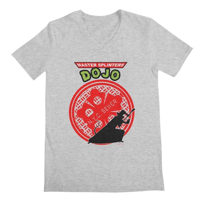 Master Splinters Dojo Men's V-Neck by doombxny's Artist Shop