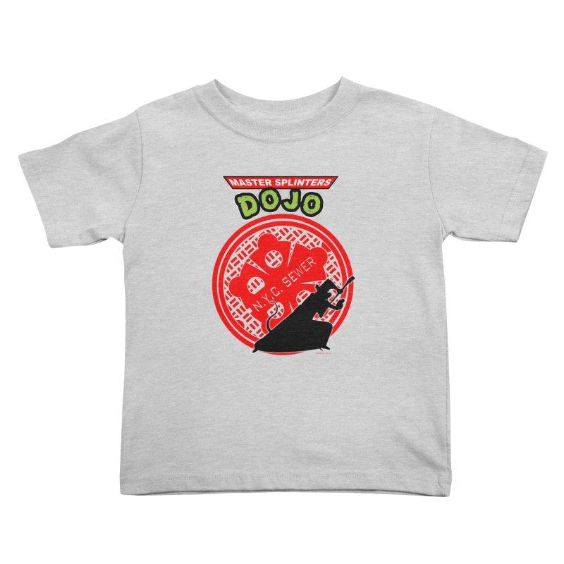 Master Splinters Dojo Kids Toddler T-Shirt by doombxny's Artist Shop